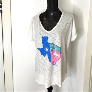 Lilly Pulitzer Oversized Graphic Tee